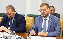 К. Косачев: Парламентарии России иКитая продолжают подготовку совместных инициатив, втом числе, полинии Межпарламентского союза