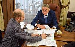 С. Лукин: Личное общение сжителями региона позволяет успешнее проводить работу покорректировке законодательства