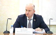 О. Цепкин принял участие впленарном заседании Общественной палаты Челябинской области
