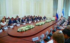 Входе визита делегации СФ вУзбекистан намечены конкретные направления развития двусторонних отношений— В.Матвиенко