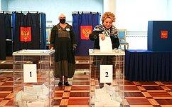 В. Матвиенко: Выборы– это важнейшее политическое событие встране