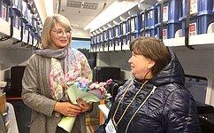 Н.Косихина: Благодаря мобильному технопарку дети вовсех уголках Ярославской области смогут осваивать самые современные технологии