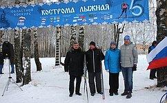 М.Козлов: Проект «Кострома лыжная» стал поистине народным