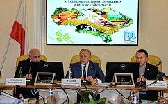 О.Алексеев принял участие всовещании ссельхозпроизводителями Саратовской области