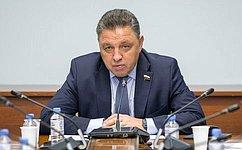 В.Тимченко: СФ будет осуществлять мониторинг реализации мероприятий, направленных нарегулирование контрольно-надзорной деятельности
