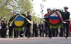 В. Матвиенко: Россия придает большое значение дальнейшему развитию Черноморского флота