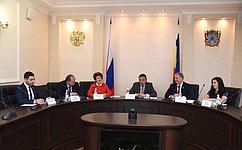 Совет Федерации поддерживает региональные практики волонтерства всфере правового воспитания ипросвещения молодежи