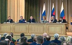 В.Матвиенко приняла участие взаседании коллегии Генпрокуратуры