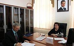 Л. Талабаева обсудила сжителями Приморского края вопросы образования, борьбы снезаконным оборотом древесины
