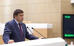 Н. Журавлев: Внесенный сенаторами идепутатами законопроект позволит блокировать рекламу финансовых пирамид