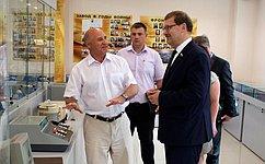 К. Косачев посетил муниципалитет ипредприятие Республики Марий Эл