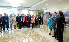 ВСовете Федерации открылась выставка художественной фотографии В. Клавихо-Телепнева