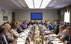 Развитие агропромышленного комплекса Вологодской области стало темой расширенного заседания профильного Комитета СФ
