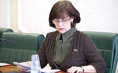 Е. Попова приняла участие взаседании Общественной палаты Волгоградской области