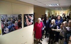 ВСовете Федерации открылась выставка «Крымская весна. Возвращение домой»