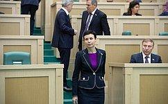 Новые члены Совета Федерации приступили кработе