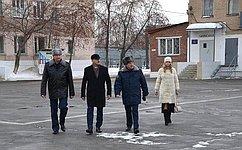 О. Цепкин посетил исправительную колонию вЧелябинской области