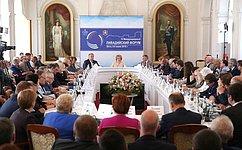 Председатель СФ предложила врамках Ливадийского форума создать Молодежную дискуссионную площадку