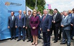 Председатель СФ: Открытие Аксайского моста через реку Дон улучшит транспортную иэкологическую ситуацию вРостовской области
