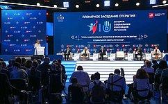 В.Матвиенко: Форум социальных инноваций регионов стал крупнейшей дискуссионной ипрезентационной площадкой