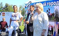 Л. Антонова поддержала российских паралимпийцев напразднике «Моя спортивная школа» вДзержинском