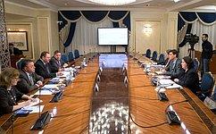 О.Мельниченко провел встречу сисполнительным директором ичленом правления Германо-Российского форума М.Хоффманном