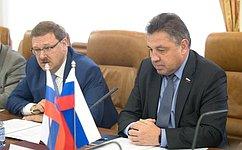 В. Тимченко провел двустороннюю встречу спредставителями Национального совета Словацкой Республики