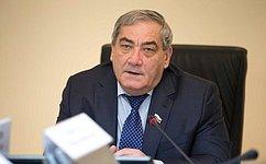 В. Штыров провел заседание президиума Совета поАрктике иАнтарктике при Совете Федерации