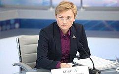Л. Бокова: Операторы связи должны нести ответственность запередачу ложного номера звонившего абонента