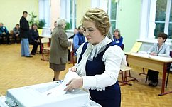 Избирательная кампания отличалась высокой политической конкуренцией– В.Матвиенко