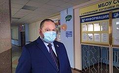 О. Мельниченко проголосовал навыборах главы Пензенской области