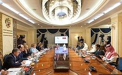 В.Матвиенко: Мы заинтересованы врасширении взаимодействия сОрганизацией исламского сотрудничества попарламентской линии