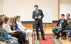 И. Зуга встретился сучастниками форума «Школа лидеров местного самоуправления»