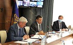 Н. Журавлев: Мы заинтересованы вобмене информацией сРосфинмониторингом опроблемах при реализации нацпроектов