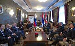 В.Матвиенко провела встречу сПрезидентом Республики Сербской М.Додиком