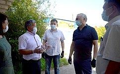 Б. Жамсуев ознакомился сходом ремонтных истроительных работ вАгинском Бурятском округе Забайкальского края