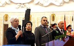 О.Тимофеева: Видеомост, посвященный пятилетию Крымской весны, связал Москву иСевастополь