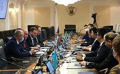 Сенаторы обсудили смеждународными наблюдателями отпарламентов стран СНГ предварительные итоги выборов вГосударственную Думу