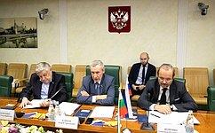 А. Климов провел вСовете Федерации ряд международных встреч