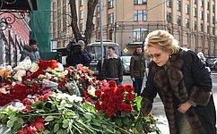 Председатель СФ сделала запись вТраурной книге представительства Кемеровской области