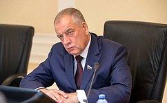 С.Митин провел совещание поподведению итогов Всероссийского водного конгресса 2019года