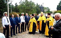 Черноморцы встретили главную икону ВМФ РФ