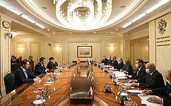 Между Россией иКиргизией сложились отношения союзничества истратегического партнерства– В.Матвиенко