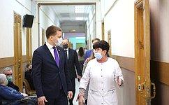 А. Пронюшкин посетил пункты вакцинации воВладимирской области