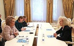 В. Матвиенко: России иСША нужно вместе искать общую позитивную повестку