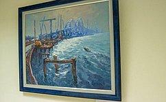 ВСовете Федерации проходит художественная выставка «Крымский мост»