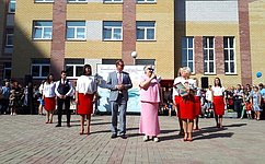 И. Тихонова: ВЛипецке открыли учебное заведение нового поколения