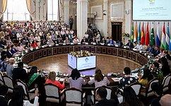 Женщины стран ШОС иБРИКС должны использовать свое растущее влияние для обеспечения глобальной безопасности— В.Матвиенко