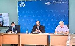 ВРостовской области ведется активная работа пореализации пилотного регионального проекта «Развитие рынка газомоторного топлива»— В.Лакунин