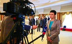 И. Рукавишникова: Рассчитываем надальнейшее расширение контактов сГосударством Бруней-Даруссалам